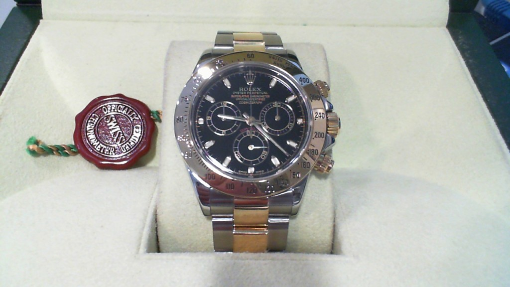 rolex daytona two tone price new