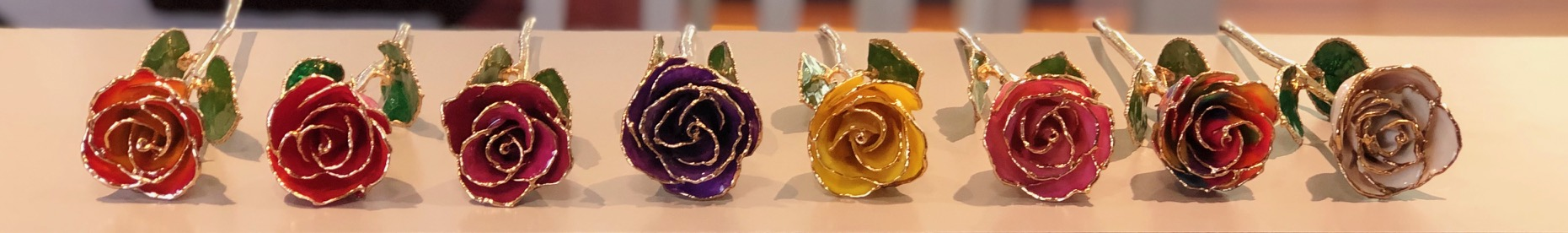 Gold Dipped Roses | Real 24k Gold Dipped Roses | Harold